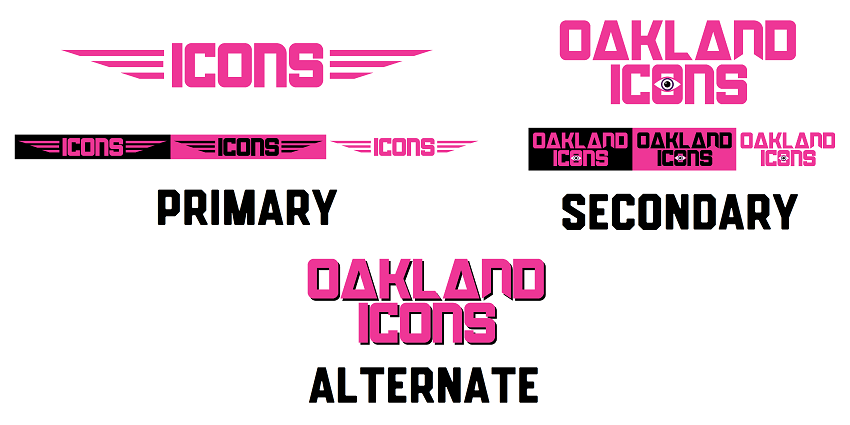 Oakland Icons Wordmark