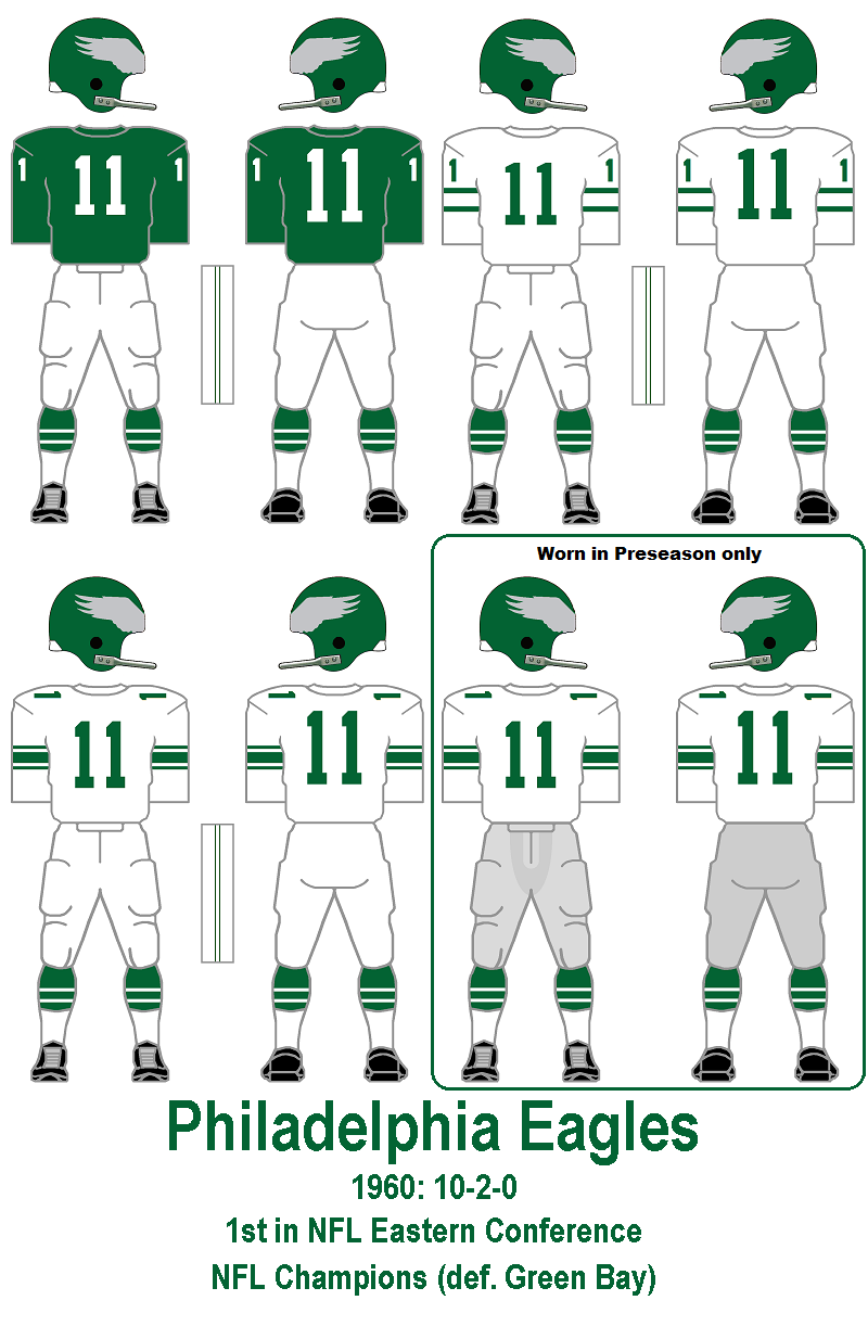 Eagles Black Jersey Green Pants >> Jeffrey Lurie wants the Eagles to use Kelly green as an alternate and Thursday night jersey ...