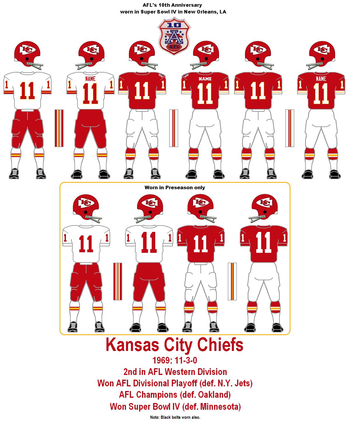3822ac2d1a2 Pre Season. 8 2 1969. Kansas City