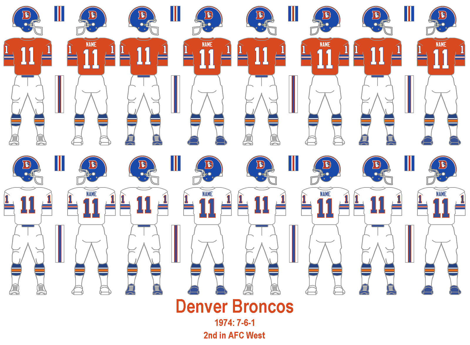 5f90f1dfb75 ... classic look; please bring it back, Denver}. {Here} is what the Broncos  wore in their first Super Bowl appearance in 1978.