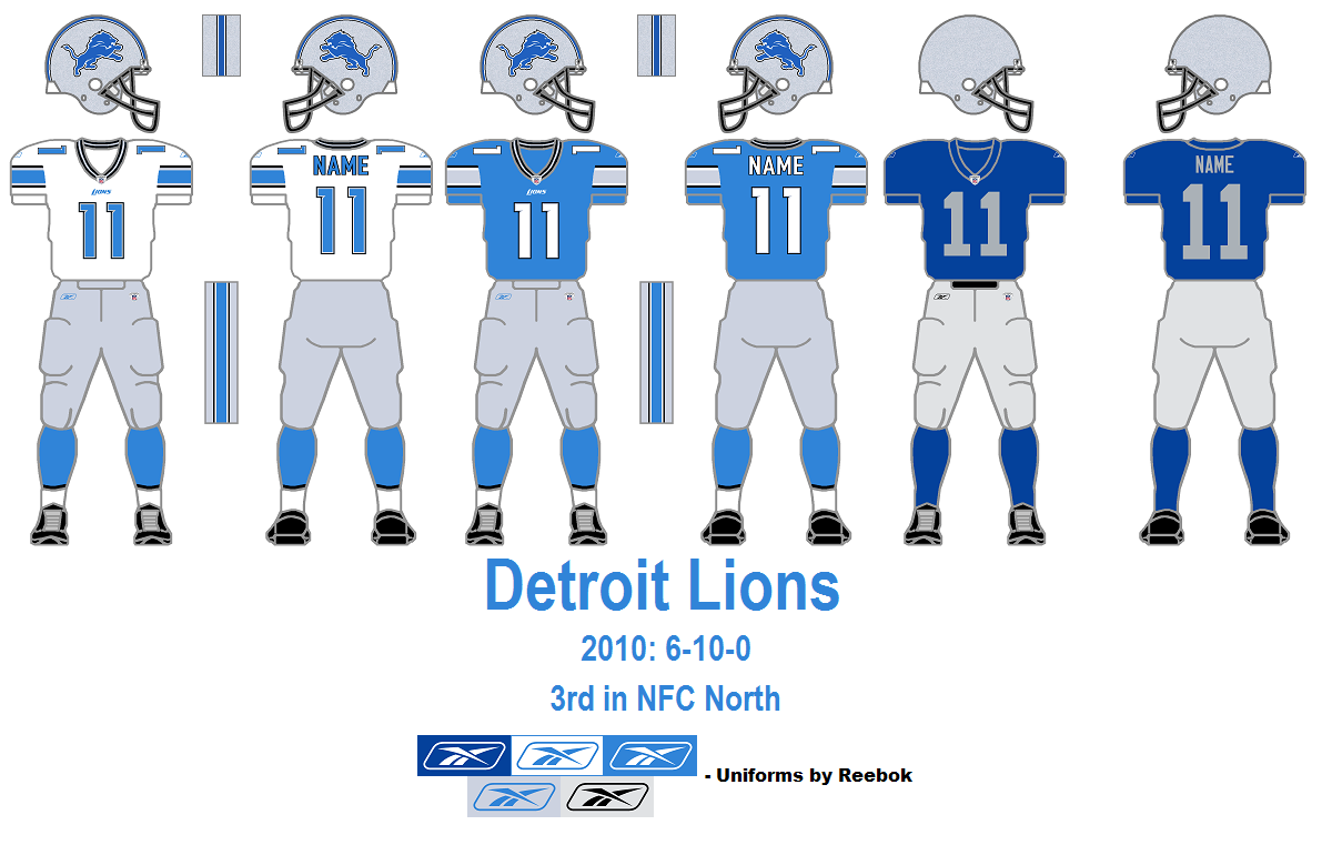 detroit lions jersey history
