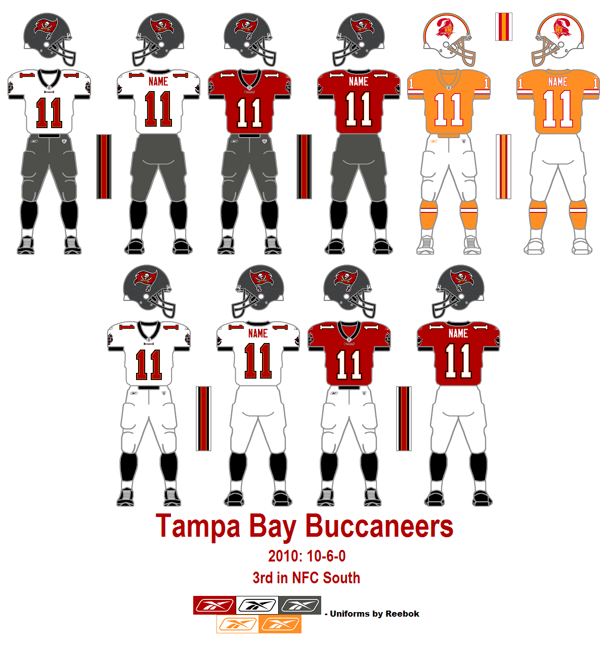 10+ Buccaneers Uniforms 2013