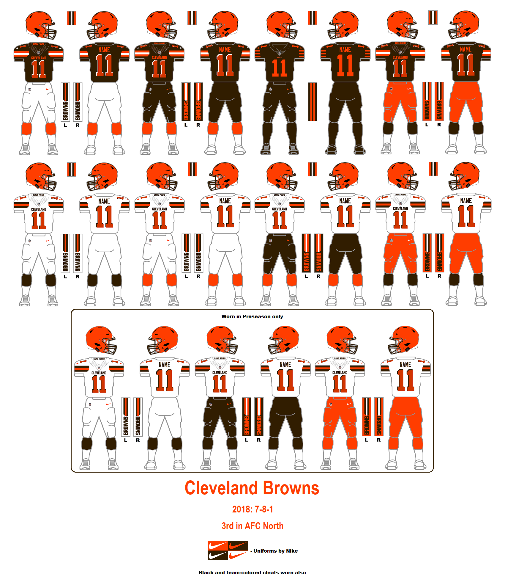 e82e8d28 Vince: In some ways, even talking about these current Browns uniforms is a  waste of time. They debuted four years ago, they were horrible, everyone  knew ...